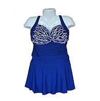 Купальник платье большого размера  150-4