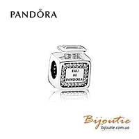 Pandora Шарм АРОМАТ PANDORA 791889CZ серебро 925 Пандора оригинал
