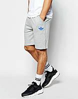 Мужские спортивные шорты Adidas серые