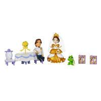 DPR Игровой набор маленькая кукла Принцесса Рапунцель и сцена из фильма, B5341