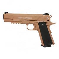 Пневматический пистолет Umarex Colt M45 CQBP FDE Blowback