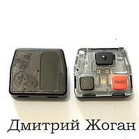 Корпус кнопок ключа для TOYOTA (Тойота) 2 кнопки +1 кнопка