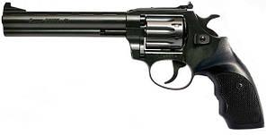 """Револьвер под патрон Флобера Snipe 6"""" (пластиковая рукоять)"""