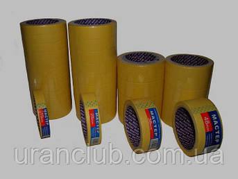 "Стрічка малярна ""Майстер"" (жовта) 30 мм * 25 м /8шт"