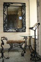 Изготовим кованую раму для зеркала на заказ. Купить раму для зеркала или картины. Ковка, ремонт металлоизделий