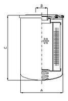 Фильтроэлемент A105, Filtrec