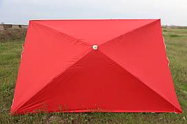 Зонт 2.5х3.5 с серебряным напылением