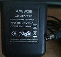 Блок питания Maw woei 12V AC 1000mA MWA41-1201000GS