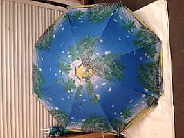 Пляжный зонт с серебряным напылением, регулировкой наклона купола