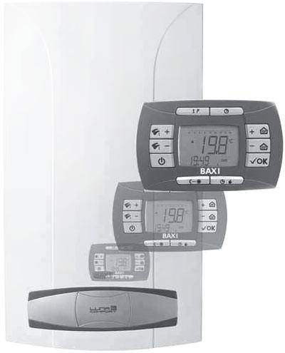 Газовый котёл BAXI NUVOLA-3 Comfort 240 Fi