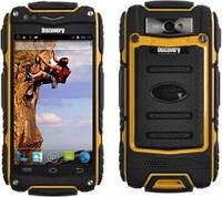 Противоударный смартфон DISCOVERY V8 2 сим,4 дюйма,2 ядра,IP56,4 Гб,5 Мп.