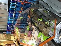 """Детский зонт трость Star Rain """"Динозаврики"""" полуавтомат, 8 спиц"""
