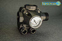 Автоматика на насос РС-9C 3 в 1 (реле, пятерник, монометр, до 1,5 кВт)