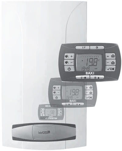 Газовый котёл BAXI NUVOLA-3 Comfort 310 Fi