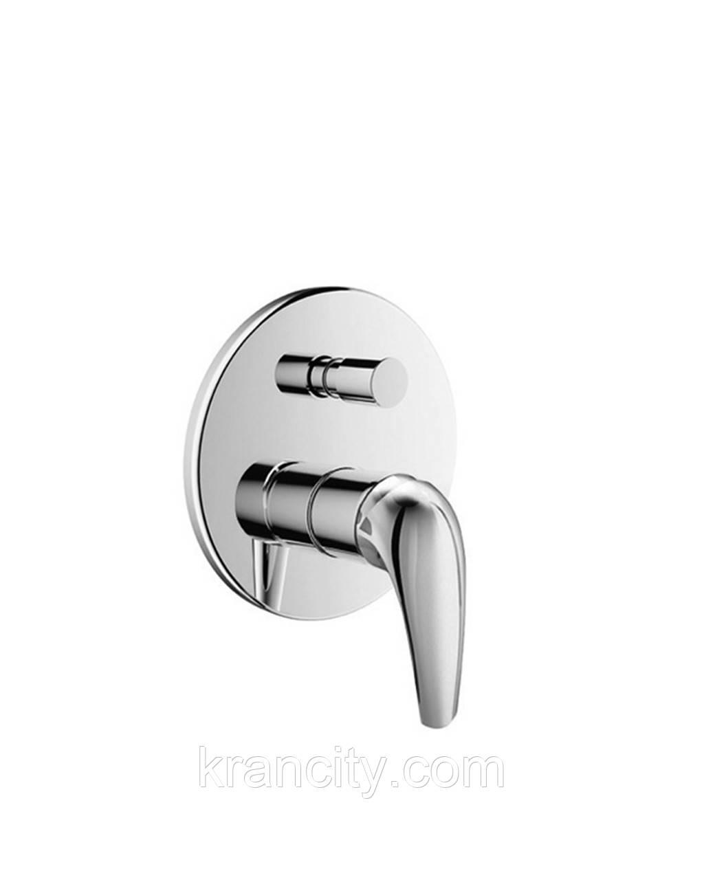 KRINICE смеситель скрытого монтажа для ванны однорычажный,  IMPRESE VR-10110(Z)+ПОДАРОК