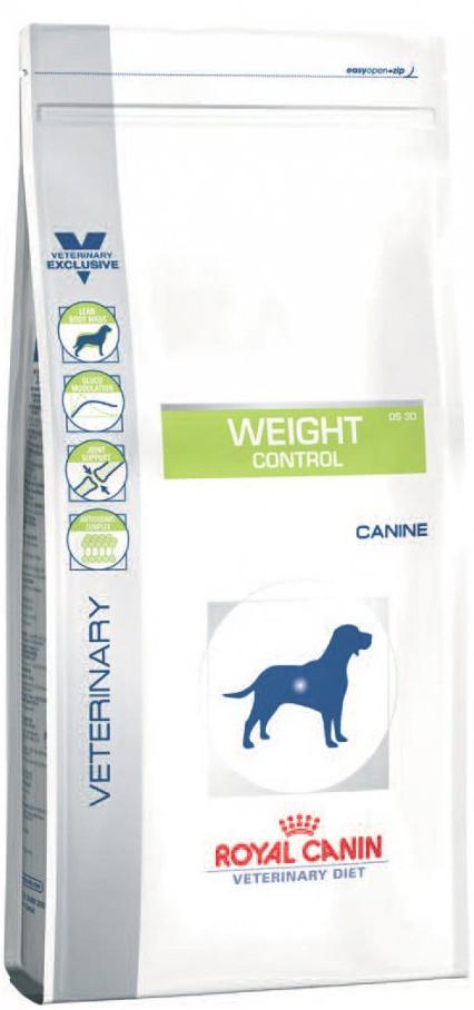 Лечебный корм для собак Royal Canin Weight Control Dog - ожирение