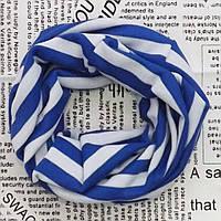 Хомут шарф трикотажный для взрослых и детей