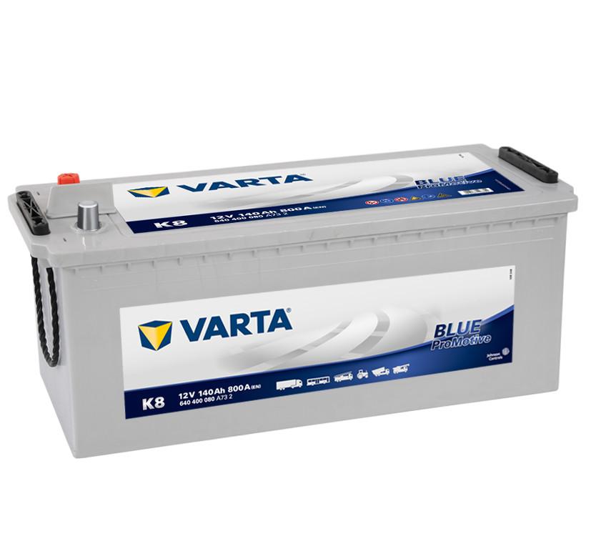 Аккумулятор VARTA PM Blue(K8) 140Ah-12v (513x189x223) левый +
