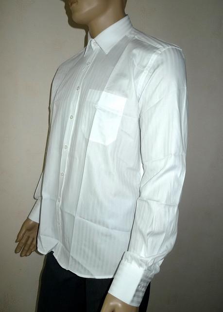 Белая мужская рубашка Aygen Pronto Moda