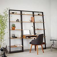 """Письменный стол под комплект """"Полка-стол «лестница 2»"""""""