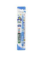Детская зубная щетка GUM Baby от 0 до 2 лет