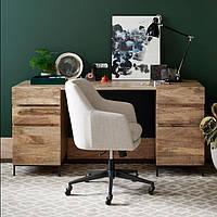 """Письменный стол из массива дерева """"Скандинавский"""""""