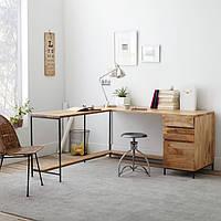 Письменный стол из массива дерева Nv-67