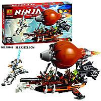 """Конструктор Bela Ninja 10448 (аналог Lego Ninjago 70603) """"Пиратский Дирижабль"""" 294 дет."""