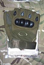 Тактические перчатки ,беспалые OAKLEY (реплика), фото 2