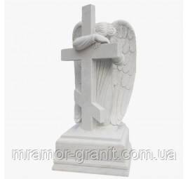 Скульптура скорбящий ангел С - 21