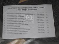 Ремкомплект КПП ЯМЗ 238 (Украина). 236-1700001