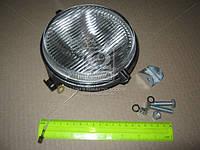 Фара противотуманная МТЗ круглая галогенная лампа (белое стекло) (Украина). ФПГ-117