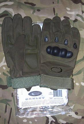 Тактические перчатки  OAKLEY (реплика) , фото 2