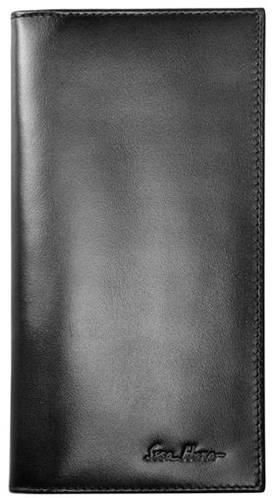 Идеальное мужское портмоне на каждый день, кожаное ISSA HARA WB20 (01-00)