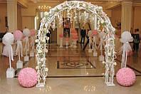 Изготовление кованых свадебных арок на заказ. Купить кованую свадебную арку с доставкой и монтажом.
