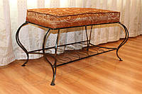 Банкетка кованая - Royal. Маленькие диваны., фото 1