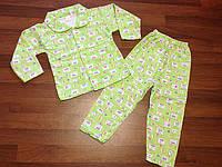 Детская одежда оптом Пижама с начесом оптом, фото 1