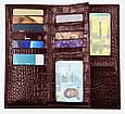 Мужское портмоне на каждый день, кожаное ISSA HARA WB20 (22-00), фото 3