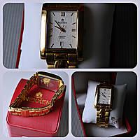Оригинальные механические часы Nexxen с позолотой, мужские наручные качественные часы на стальном браслете