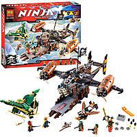 """Конструктор Bela Ninja 10462 (аналог Lego Ninjago 70605) """"Цитадель Несчастья"""" 757 дет."""