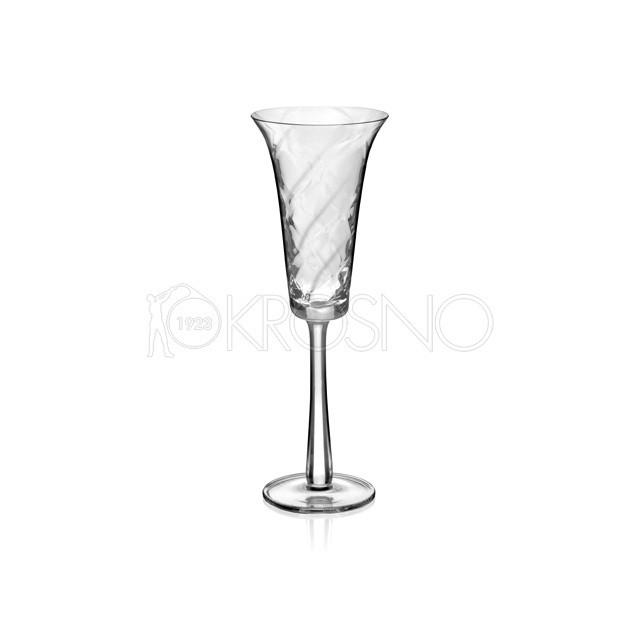 Набір келихів для шампанського Krosno Classic Elite 220 мл 6 шт F078305022004030