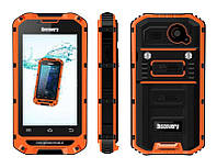 Противоударный смартфон DISCOVERY V6,экран 4 дюйма,2 сим,камера 5 Мп,Wi-Fi.