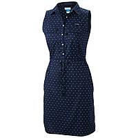 Женское платье Columbia SUPER BONEHEAD™ II SLEEVELESS DRESS темно-синее 1577611-464( FL5052-464)