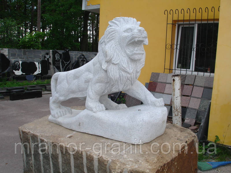 Скульптура льва С - 24