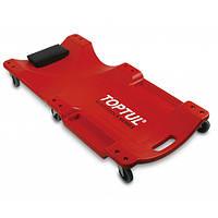 Лежак автослесаря подкатной пластиковый 1020x480x115мм JCM-0300 TOPTUL