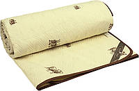 Одеяло Руно шерстяное двуспальное евро  бязь 200x220 см 160 г/м2 (322.02ШК.SHEEP)