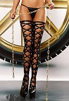 Оригинальные женские чулки со шнуровкой Bizarre Lolitta