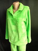 Махровые пижамы теплые зимние с воротником