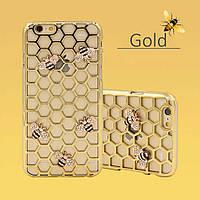 Чехол-накладка Bling Diamond Bee для iphone 6 plus плюс