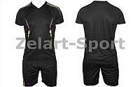 Форма футбольная  подростковая (черный)